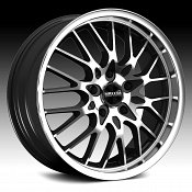 Maxxim Chance CN Machined with Gloss Black Custom Wheels Rims