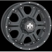 Mayhem Havoc 8020 Matte Black Custom Wheels Rims