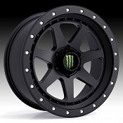 Monster Energy Edition 540B Satin Black Custom Wheels Rims