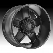 Monster Energy Edition 543B Satin Black Custom Wheels Rims