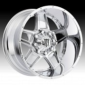 Monster Energy Edition 543C Chrome Custom Wheels Rims