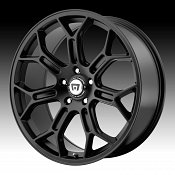 Motegi Racing MR120 120 Satin Black Custom Rims Wheels