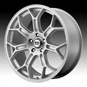 Motegi Racing MR120 120 Race Silver Custom Rims Wheels