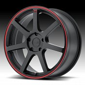 Motegi Racing MR132 Matte Black Custom Wheels Rims