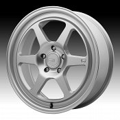 Motegi Racing MR136 Hyper Silver Custom Wheels Rims
