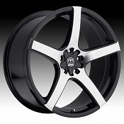 Motiv 410MB Maranello Machined Face Gloss Black Custom Wheels Ri
