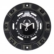 CAP-MT6-B19 / Motiv Offroad Gloss Black Bolt-On Center Cap