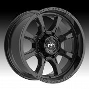 Motiv Offroad 427B Glock Gloss Black Custom Truck Wheels