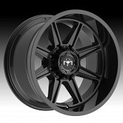 Motiv Offroad 428B Balast Gloss Black Custom Truck Wheels