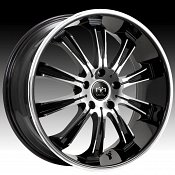 Motiv 405CB-5 Maximus Chrome w/ Gloss Black Accents Custom Rims