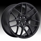 Motiv 409B Magellan Rich Satin Black Custom Rims Wheels