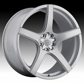 Motiv 410S Maranello Dark Titanium Silver Custom Rims Wheels