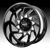 Moto Metal MO403 Forged Black Milled Custom Wheels Rims