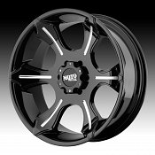 Moto Metal MO965 Black w/ Milled Accents Custom Wheels Rims