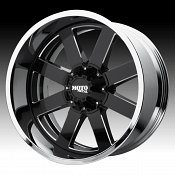 Moto Metal MO200 Black Milled / Chrome Custom Wheels Rims