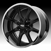 Moto Metal MO201 Black Milled / Chrome Custom Wheels Rims