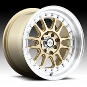 Niche M092 Johnny Walker Gold Machined Custom Wheels Rims