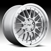 Niche M094 Project Silver Machined Custom Wheels Rims