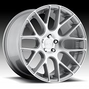 Niche M109 Circuit Machined Silver Custom Wheels Rims