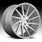 Niche M112 Surge Machined Silver Directional Custom Wheels Rims