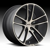 Niche M115 Enyo Machined Black DDT Custom Wheels Rims