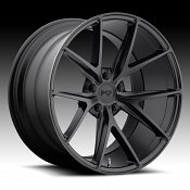 Niche M117 Misano Satin Black Custom Wheels Rims