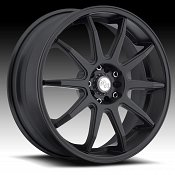 Niche M122 NR10 Matte Black Custom Wheels Rims