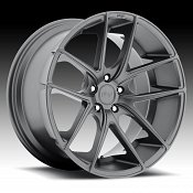 Niche M129 Targa Matte Anthracite Custom Wheels Rims