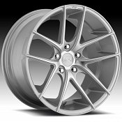 Niche M131 Targa Machined Silver Custom Wheels Rims