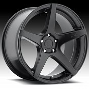 Niche M133 GT-5 Matte Black Custom Wheels Rims