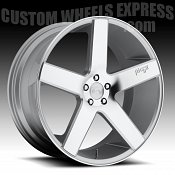 Niche M139 Milan SUV Machined Silver Custom Wheels Rims