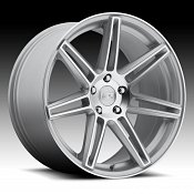 Niche M142 Lucerne Machined Silver Custom Wheels Rims