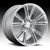 Niche M143 Ritz Machined Silver Custom Wheels Rims