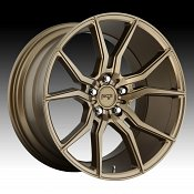 Niche Ascari M167 Matte Bronze Custom Wheels Rims