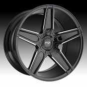 Niche Cannes M180 Gloss Black Milled Custom Wheels Rims