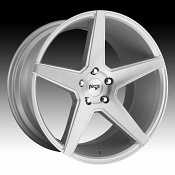 Niche Carini M184 Brushed Silver Custom Wheels Rims