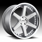Niche Altair M193 Brushed Silver Custom Wheels Rims