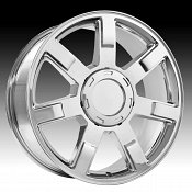 OE Creations 122C Chrome Custom Wheel