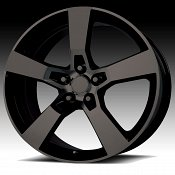 OE Creations 124B Matte Black Custom Wheel