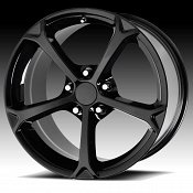 OE Creations 130B Gloss Black Custom Wheel