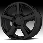 OE Creations 131B Matte Black Custom Wheel