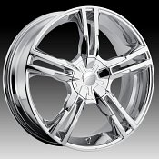 Pacer 786C Ideal Chrome Custom Rims Wheels