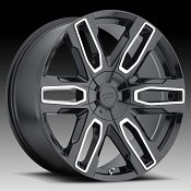 Pacer 787MB Benchmark Gloss Black Machined Custom Wheels Rims