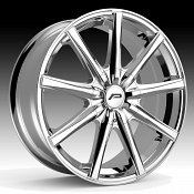 Pacer 789C Evolve Chrome Custom Wheels Rims