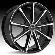 Pacer 789MB Evolve Machined Black Custom Wheels Rims