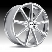 Pacer 789MS Evolve Machined Silver Custom Wheels Rims