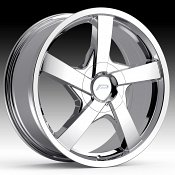 Pacer 791C Essence Chrome Plated Custom Wheels Rims