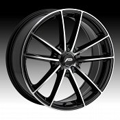 Pacer 792MB Infinity Machined Black Custom Wheels Rims