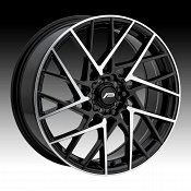 Pacer 793MB Sequence Machined Black Custom Wheels Rims