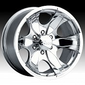 Pacer 187P 187 Warrior Polished Custom Rims Wheels